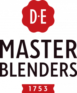 largest-coffee-traders-d-e-master-blenders-logo